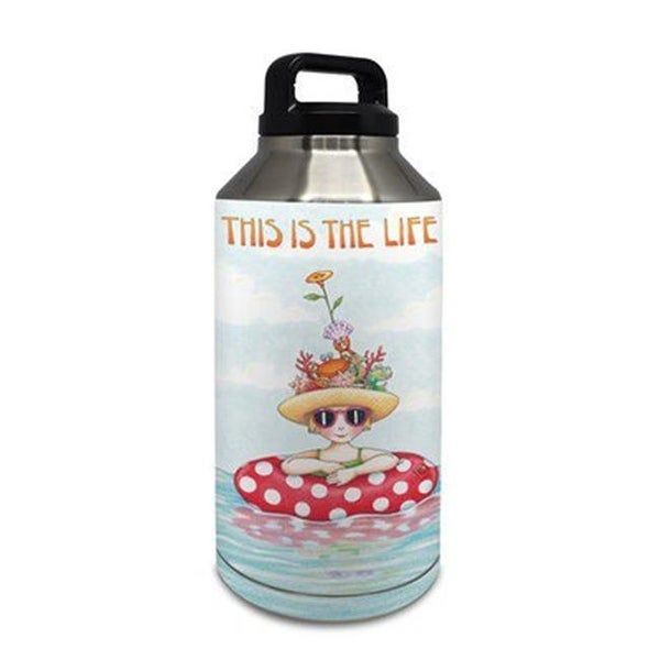 Shop Decalgirl Yeti Rambler 64 Oz Bottle Skin This Is The Life