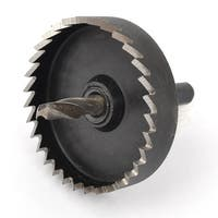 Unique Bargains 22mm Drill Bit Depth Iron Cutting HSS 50mm Diameter Hole Saw Tool