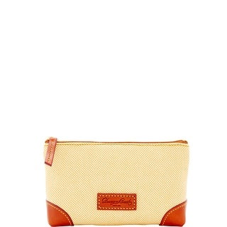 Dooney & Bourke Linen Cosmetic Case (Introduced by Dooney & Bourke at $48 in May 2016) - Yellow