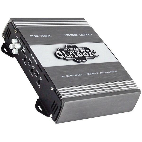 Pyramid PB715X 1000 Watts 2 Channel Bridgeable Car Amplifier
