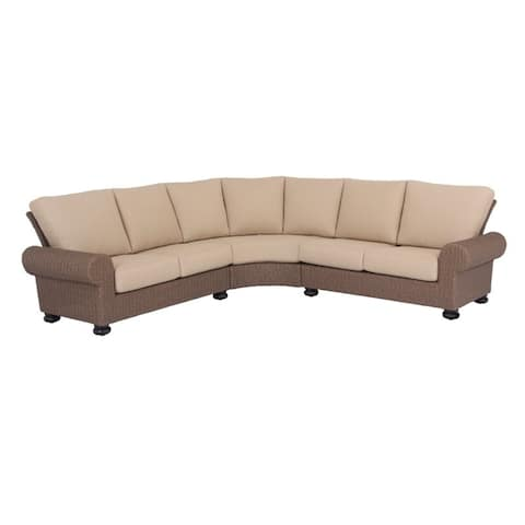 Barcalounger Outdoor Living Pacific Shoreline 5-Seater Sectional Sofa with Aluminum Frame