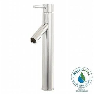 Single Hole Single-Handle Vessel Bathroom Faucet, Polished