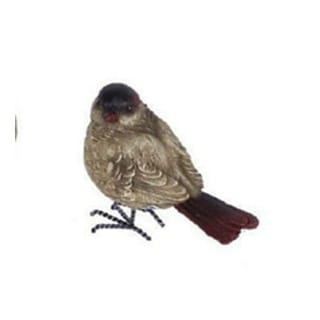 """4"""" In the Birches Decorative Brown and Red Bird Table Top Figure"""