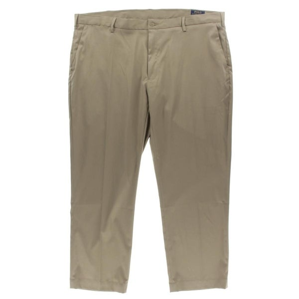 be09df515f45 Shop Polo Ralph Lauren Mens Big   Tall Casual Pants Stretch Classic ...