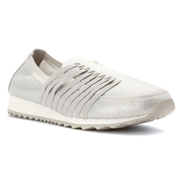 Easy Spirit Womens lehni Fabric Low Top Slip On Walking Shoes