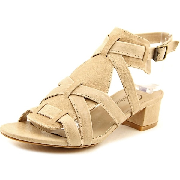 Delman Moxie Open Toe Leather Sandals