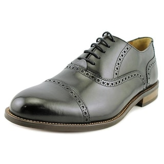 Florsheim Pascal CT OX Men Round Toe Leather Black Oxford