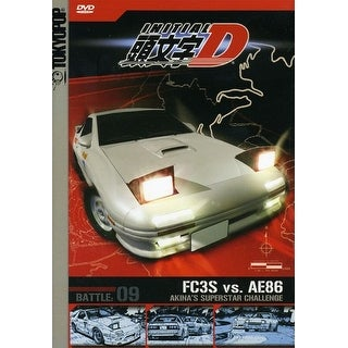 Initial D : Vol. 9-Akina's Superstar Challenge [DVD]