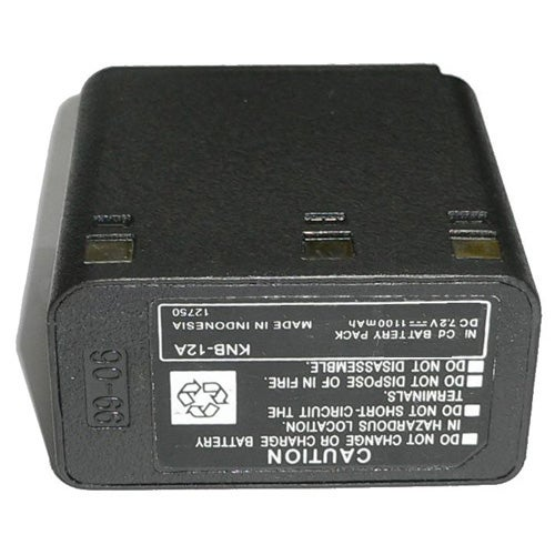 Battery for Kenwood KNB12A (Single Pack) 2-Way Radio Battery