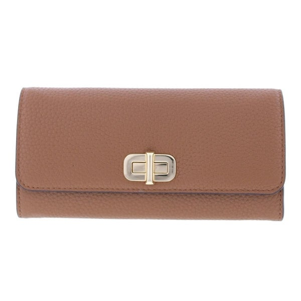 1477db98c6639 Shop Michael Kors Womens Sullivan Clutch Wallet Leather Carryall - o s -  Free Shipping Today - Overstock.com - 19740916