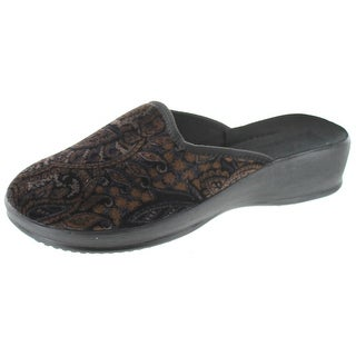 Sc Home Collection Womens Closed Toe Slippers