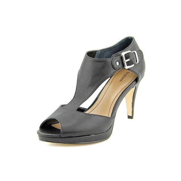 Style & Co Bethanee Womens Black Sandals