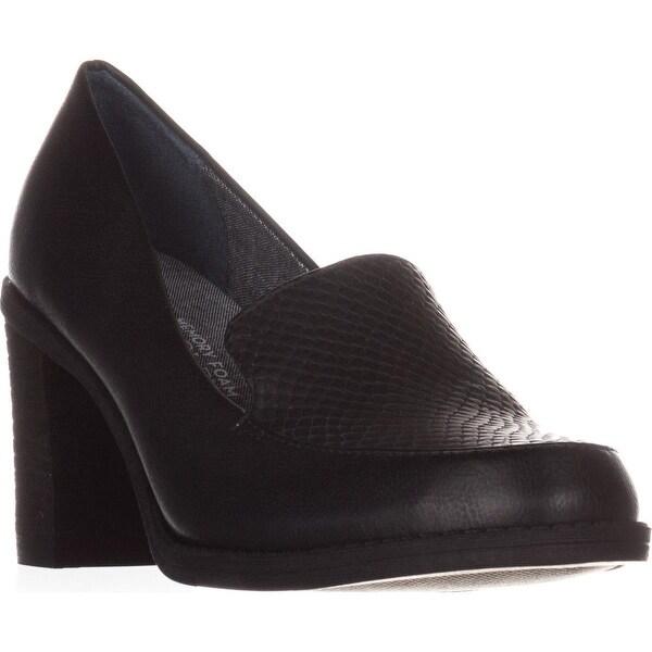 Dr. Scholl's Locate Comfrot Heels, Black