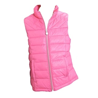 Roper Western Vest Girls Cute Quilted Fun Pink 03-298-0685-0482 PI