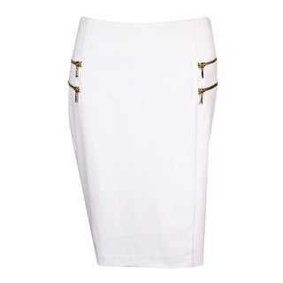 INC International Concepts Women's Decorative Zip Skirt