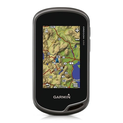 Garmin Oregon 650 Handheld GPS System