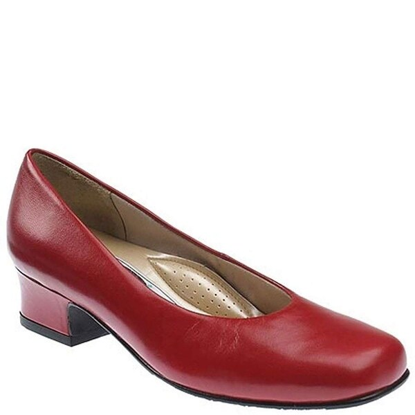 Mark Lemp Classics Womens Callie Square Toe Classic Pumps