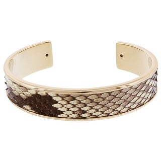 Stamerra MEMAN PITTONE BG Beige Genuine Python Bracelet