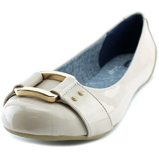 Dr. Scholl's Frankie   Round Toe Synthetic  Flats