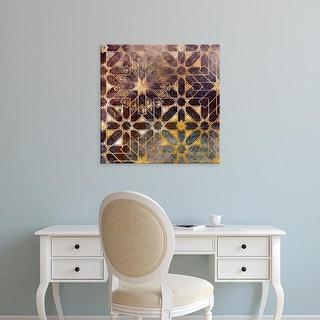 Easy Art Prints James Burghardt's 'Mystic Tiles I' Premium Canvas Art