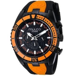 Mulco Women's Titans Wave MW5-1836-615 Black Dial watch