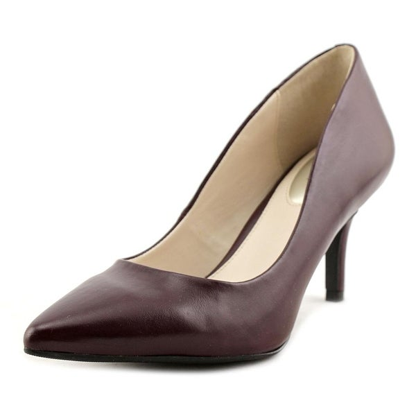 Alfani Jeules Women Pointed Toe Synthetic Burgundy Heels