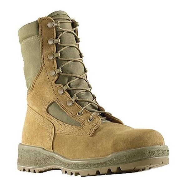 17d931da544 Wellco Men's Hot Weather Steel Toe Combat Boot Mojave
