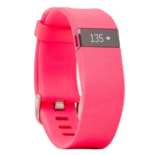 Fitbit Charge HR Wireless Activity Wristband (Pink / Large)