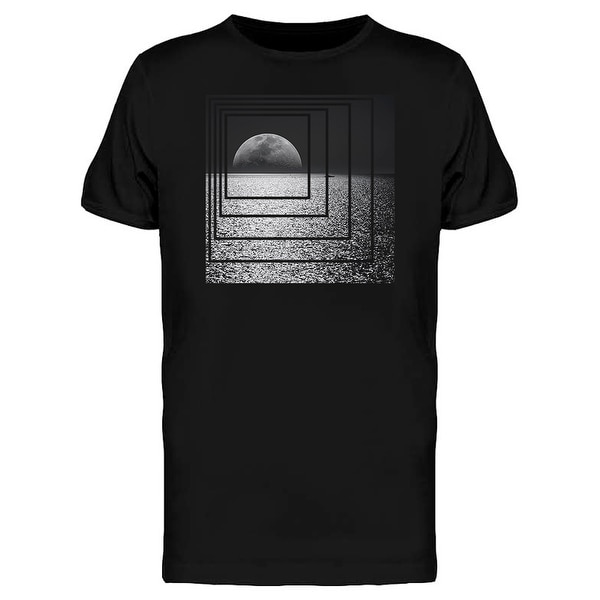 f20e533fa24d Shop Moon At Night Photography Abstract Graphic Men's T-shirt - On Sale -  Free Shipping On Orders Over $45 - Overstock - 25584890