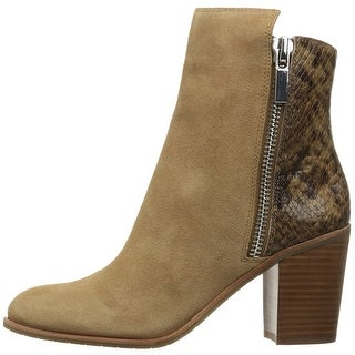 Kenneth Cole New York Womens New York Suede Almond Toe Ankle Fashion Boots