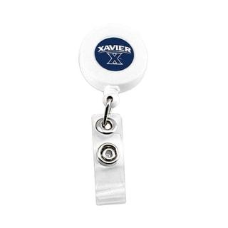 Xavier Musketeers Retractable Badge Reel Id Ticket Clip NCAA