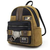 Loungefly x Solo: A Star Wars Story Han Solo Cosplay Mini Faux Suede Backpack