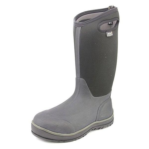 Bogs Ultra High Round Toe Canvas Rain Boot