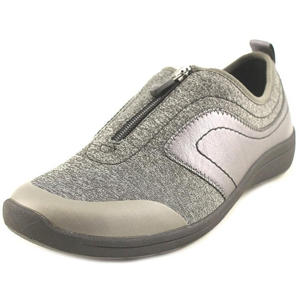 Easy Spirit Lety 2 Women N/S Round Toe Canvas Gray Loafer