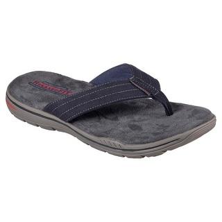 Skechers 65090 NVY Men's EVENTED-ROSEN Sandal