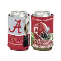 Alabama Crimson Tide 2017-2018 National Championship Trophy Can Cooler