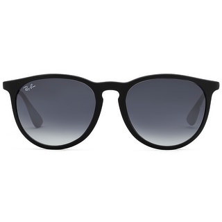 Ray-Ban 54mm Erika Wayfarers Sunglasses (Blk Frame/Gray Gradient Lens)