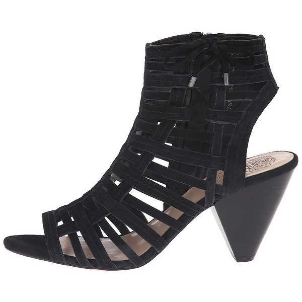 Vince Camuto Womens Evinia Leather Open Toe Special Occasion Strappy Sandals