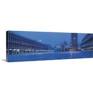 Premium Thick-Wrap Canvas entitled San Marco Square Venice Italy