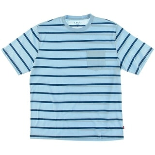 Izod Mens Big & Tall Striped Crew Neck T-Shirt