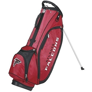 Wilson golf wgb9750at nfl carry bag atlanta falcons