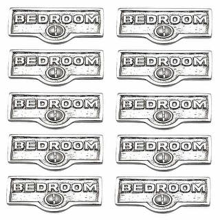 10 Switch Plate Tags BEDROOM Name Signs Labels Chrome Brass Renovator's Supply|https://ak1.ostkcdn.com/images/products/is/images/direct/5d53b9436daa6032efbeb45f9872f64773a45f53/10-Switch-Plate-Tags-BEDROOM-Name-Signs-Labels-Chrome-Brass-%7C-Renovator%27s-Supply.jpg?impolicy=medium