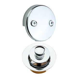 Tub Drain Lift and Turn Drain Overflow Replacement Parts