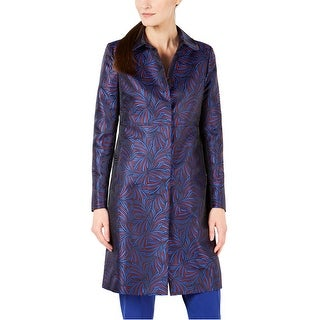 Link to Anne Klein Womens Jacquard Coat Similar Items in Women's Outerwear