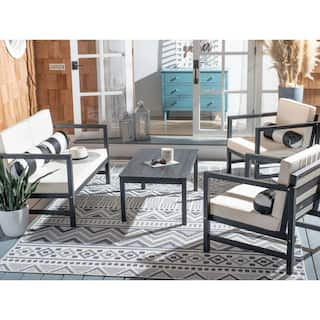 Buy Outdoor Sofas, Chairs & Sectionals Online at Overstock ... on Safavieh Outdoor Living Montez 4 Piece Set id=39267