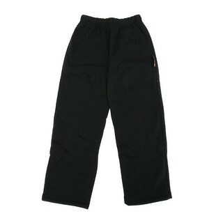 DC Comics Little Boys Black Blue Flat Color Elastic Waist Sweat Pants