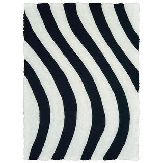 Link to Westfield Home Sarathiel Raziel Shag Area Rug Similar Items in Rugs