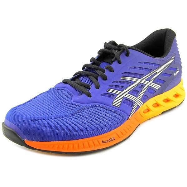 Asics FuseX Round Toe Synthetic Running Shoe