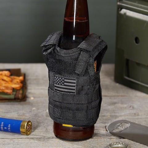 Stars & Stripes Tactical Beer Vest Koozie