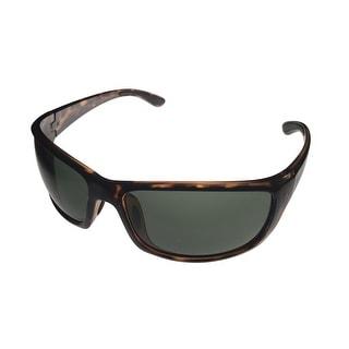 Perry Ellis Mens Sunglass PE05 3 Crystal Demi Plastic , Brown Gradient Lens - Medium